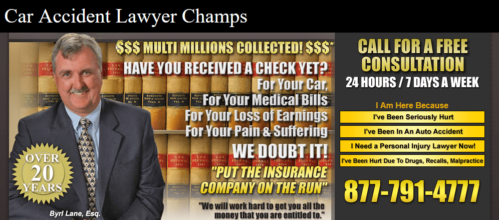Car Accident Lawyer Champs